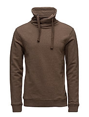Sweatshirt - MOCCA BROWN