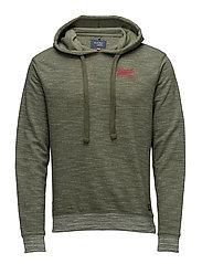 Sweatshirt - BURNT OLIVE