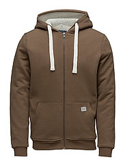 Sweatshirt - MOCCA BROWN
