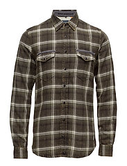 Shirt - PEAT GREEN