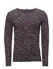 Pullover - RUST RED