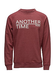 Sweatshirt - RUST RED
