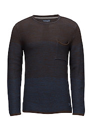 Pullover - WOOD BROWN