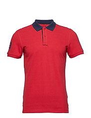 Poloshirt - POMP RED