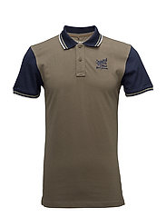 Poloshirt - DUSTY OLIVE GREEN