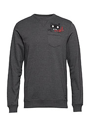 Sweatshirt - PEWTER MIX