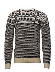 Pullover - BONE WHITE