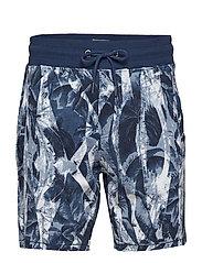 non denim shorts - BONE WHITE