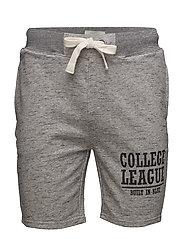 non denim shorts - STONE MIX