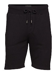 non denim shorts - BLACK