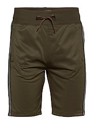 non denim shorts - DUSTY GREEN