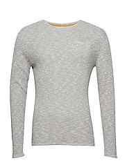 Pullover - STEEPLE GREY