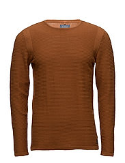 Pullover - RUST BROWN