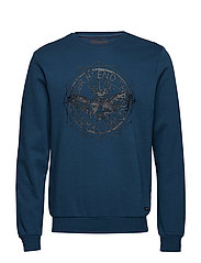 Sweatshirt - MAJOLICA BLUE