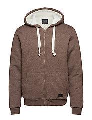 Sweatshirt - MUD BROWN