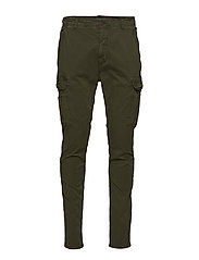 Pants - FOREST NIGHT GREEN