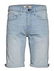 Denim shorts - DENIM BLEACH BLUE