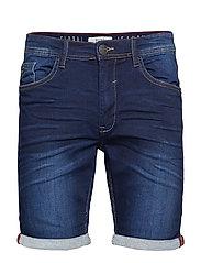 Denim Jogg shorts - DENIM DARK BLUE