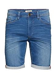 Denim Jogg shorts - DENIM MIDDLE BLUE
