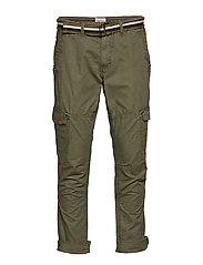 Pants - BEETLE GREEN