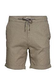 Shorts - DUSTY OLIVE GREEN
