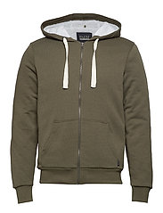 Sweatshirt - OLIVE NIGHT GREEN