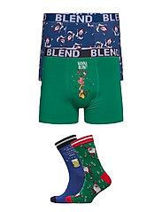 Giftbox - Trunks/Socks - MIX COLORS