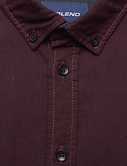 Blend - BHNAIL shirt Slim Fit - basic overhemden - tawny port - 2