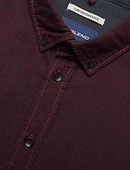 Blend - BHNAIL shirt Slim Fit - chemises basiques - tawny port - 3