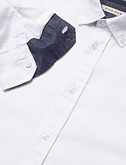 Blend - BHNAIL shirt Slim Fit - peruspaitoja - white - 3