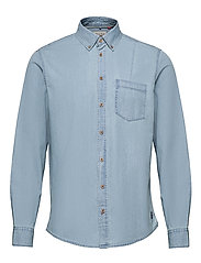 Shirt - DENIM LIGHT BLUE