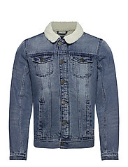 Outerwear - DENIM MIDDLE BLUE