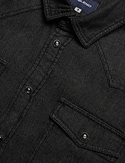 Blend - Shirt - peruspaitoja - denim black - 3