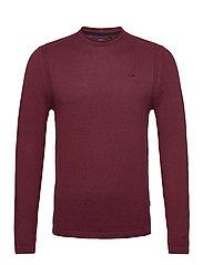 Pullover - TAWNY PORT
