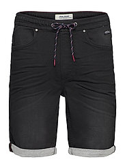 Denim Jogg shorts - DENIM BLACK