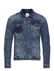 Denim jacket - DENIM MIDDLE BLUE