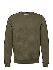 Sweatshirt - DUSTY OLIVE