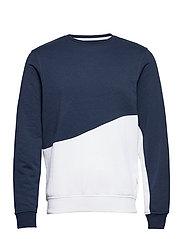 Sweatshirt - DRESS BLUES
