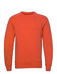 Sweatshirt - MANDARIN RED