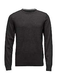 BHNIGRI KNIT PULLOVER NOOS - CHARCOAL