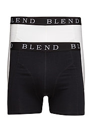 BHNED underwear 2-pack - BLACK/WHITE
