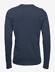 Blend - BHNICOLAI tee l.s. NOOS - t-shirts basiques - midnight blue - 1