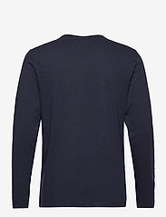 Blend - BHNICOLAI tee l.s. NOOS - t-shirts basiques - navy - 1