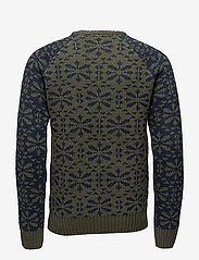 Blend - Pullover - pulls col rond - beetle green - 1