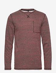 Blend - Sweatshirt - basic sweatshirts - pomp red - 0
