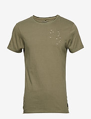 Blend - Tee - À manches courtes - dusty olive green - 0