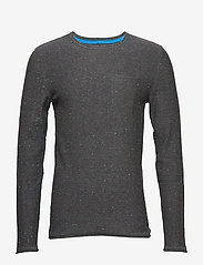 Blend - Pullover - basic knitwear - pewter mix - 0
