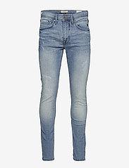 Blend - Jet fit w. destroy - NOOS Jeans - skinny jeans - denim lightblue - 0