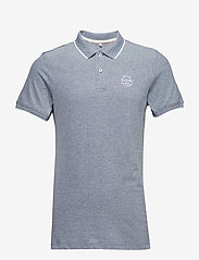 Blend - BHNATE poloshirt NOOS - polos à manches courtes - denim blue - 0