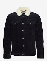Blend - Outerwear - denim jackets - dark navy blue - 1